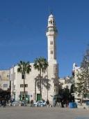 piazzale con la moschea